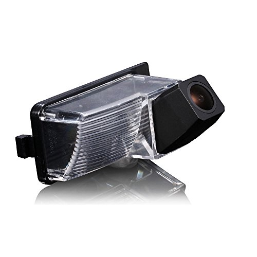 LYNN Waterproof Backup Camera Color Car Rear View Camera 170 Degree Viewing Angle License Plate with Night Vision for LIVINA TIIDA GENISS GT-R 350Z 370Z Z34