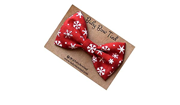 Bright Snowflakes tied clips *ON SALE*