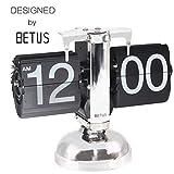 Betus Flip Desk Clock - Mechanical Retro Style
