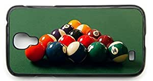A Fresh Game Of Pool Pattern Hard Durable Cover Case for Samsung Galaxy S4 I9500