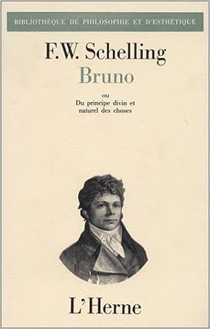 Livre Bruno ou du principe divin et naturel epub, pdf