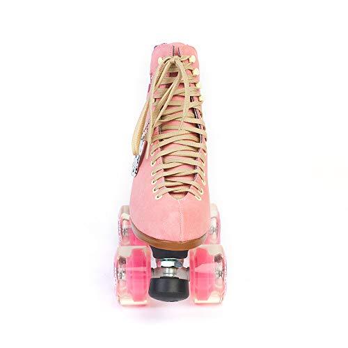 Moxi Roller Skates Lolly Roller Skates,Pink,4 by Moxi (Image #2)