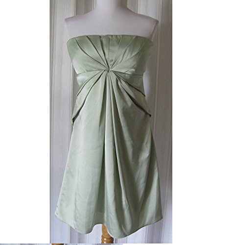 a142 $280 NEW BCBG MAXAZRIA GREEN STRAPLESS PROM PARTY BRIDAL COCKTAIL DRESS 8 (Bcbg Dress Party)