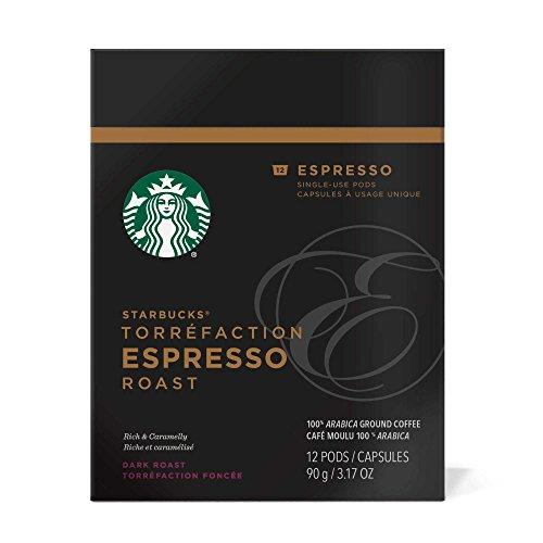 Starbucks Verismo Espresso Roast Pods 12