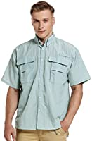 Men's Outdoor UPF Long Sleeve Hiking Fishing Quick Dry Sun Protection Shirts