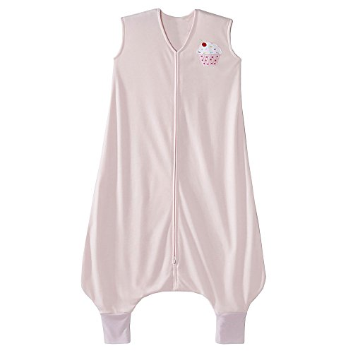HALO Big Kids SleepSack Lightweight Knit Wearable Blanket, Pink, 2-3T (Big Kids Light Pink Apparel)