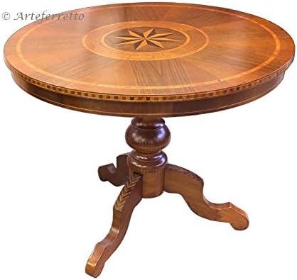 Tisch rund fest Durchmesser 90 cm (nicht ausziehbar