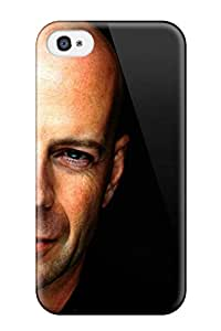 Hot Tpu Cover Case For Iphone/ 4/4s Case Cover Skin - Bruce Willis