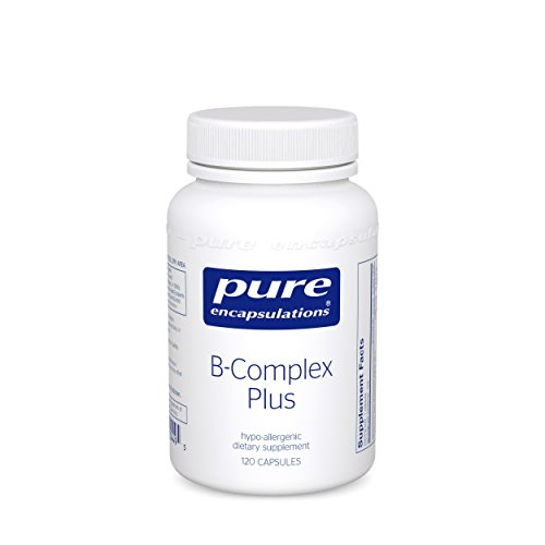 Pure Encapsulations B Complex Plus – 120 Capsules Pack of 2
