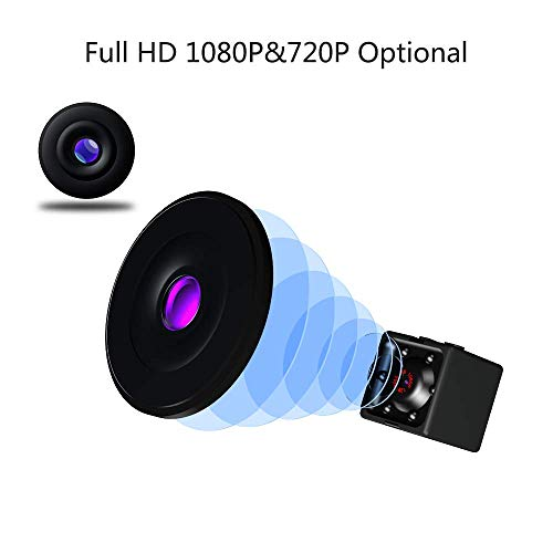 Mini Wireless Hidden spy Camera,Full HD 1080P Portable Small HD Nanny cam with Night Vision,Video Record and Motion Detection for Home, Car, Drone, Office and Outdoor Use