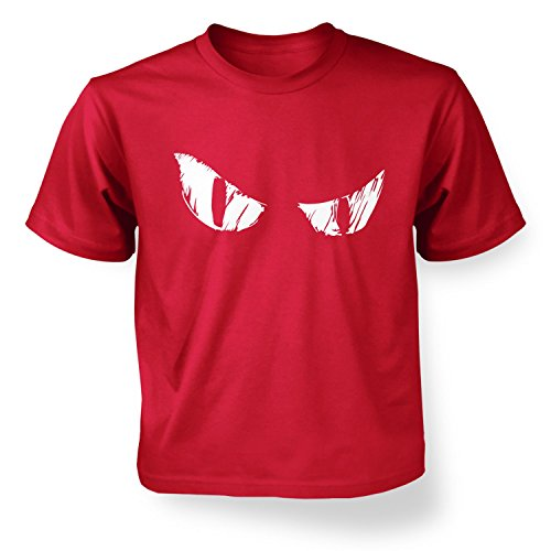 Evil Eyes Kids T-shirt - Red XS (3-4)