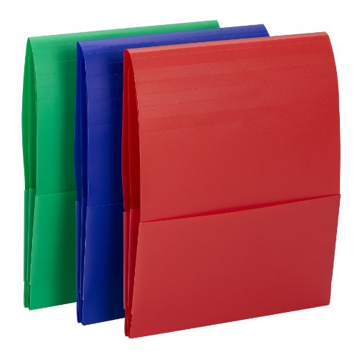 Smead Campus.org Poly Backpack Organizer, Letter Size, 1 Each, Color Will Vary (87016)