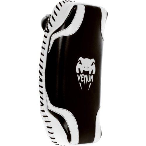 Venum Absolute Kick Pads, Black/White by Venum