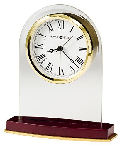 Brass Princeton Crystal - Howard Miller 645786 645-786 Anson Table Clock