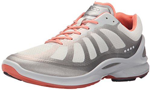 Racer ECCO Silver Metallic Oxford Women's Biom Fjuel Shoes OIxISqP