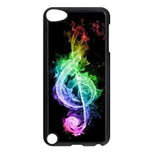 iPod 5 Case,Colorful Musical Note Hard Snap-On Cover Case for iPod Touch 5, 5G (5th Generation) by mcsharks