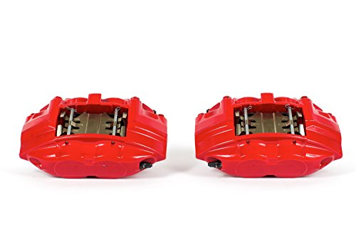 Power Stop S6232 Red Powder-Coated Performance Caliper