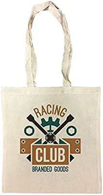 Racing Club Branded Goods Bolsa De Compras Playa De Algodón ...