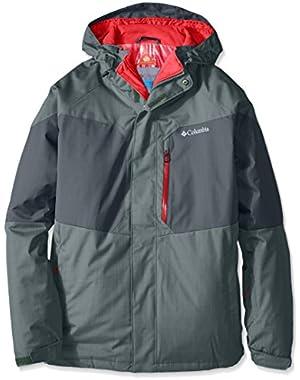 Columbia Men's Alpine Action Jacket, Pond/Deep Green, 1X!