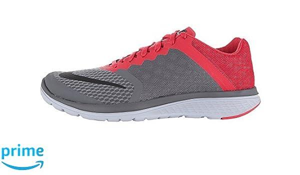 ebadf9de44bd4 Amazon.com  Nike FS Lite Run 3 2016 Running Shoes Gray red