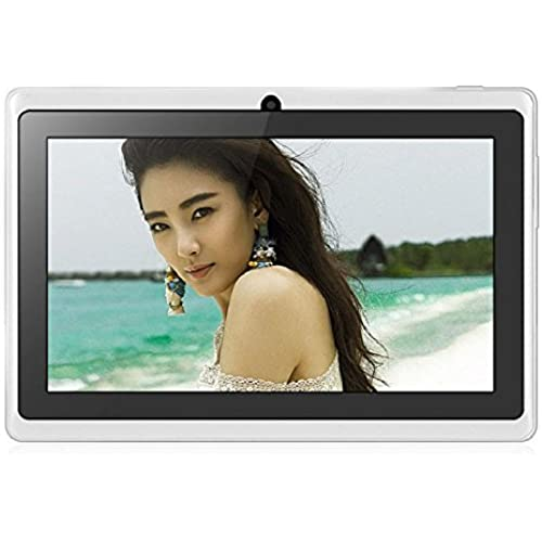 7 Inch Android 4.4 Tablet Quad Core 800480 512MB + 4GB White Coupons