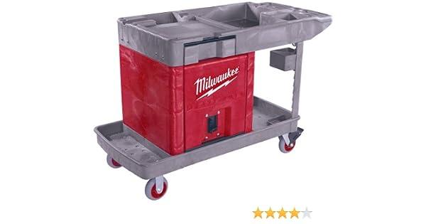 .com: milwaukee 48-60-5015 trade titan industrial work cart ...
