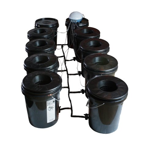 41HEDffzZgL Viagrow Black Bucket Deep Water Culture System, 8 pack