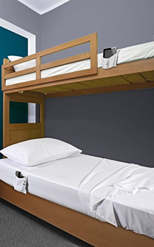 Quick Change Bed Sheets for Hospital Beds and Dorms (5 Piece - Basic Set)