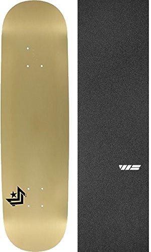 アイロニーカウント複合mini-logoシェブロンゴールドスケートボードデッキ249 – 8.5