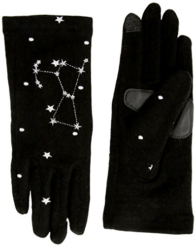 Echo Women's Night Sky Constellation Touch Technology Glove, black orion, Large (Echo Touch Gloves)