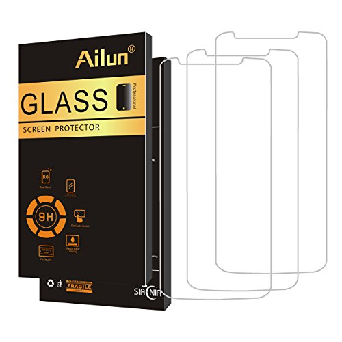 Ailun Screen Protector for Moto G6 Play [3 Pack],Tempered Glass for Moto G6 Play only,9H Hardness,Ultra Clear,Anti-Scratch,Case Friendly [NOT for Moto G6/G6 Plus]