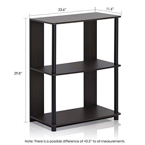 Furinno 15070WNBK Jaya Simple Design Bookcase, Walnut by Furinno (Image #1)