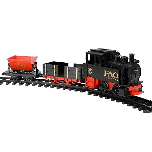 FAO Schwarz 150th Anniversary Railroad Train Set Limited Edition