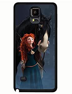 Classic Designed Tough Case for Samsung Galaxy Note 4 With Brave Picture Printed Phone case