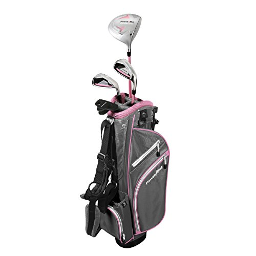 PowerBilt Girl's Ages 5-8 Golf Series Set, Right Hand, Pink