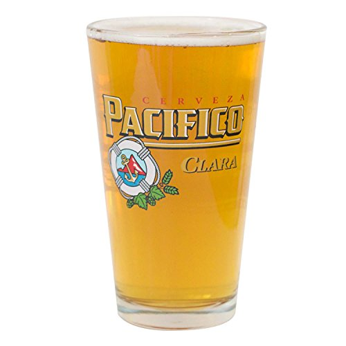 Pacifico Pint Glass for sale  Delivered anywhere in USA