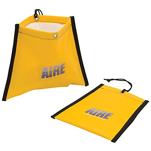 "AIRE Industrial Hose Leak Drip Pouch 5"" to 6"", with Absorbent pad, Bright Yellow by AIRE Industrial"