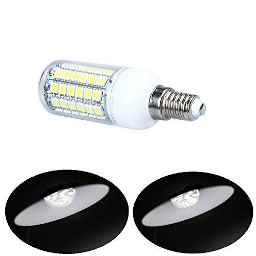 Tesoar® [New Arrials] E14 8W LED Corn Bulb Lamp 69 SMD 5050 White AC 220V
