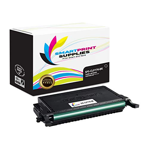 Smart Print Supplies Compatible CLT-K609S CLT-609S Black Toner Cartridge Replacement for Samsung CLP-770ND 775ND Printers (7,000 Pages) ()