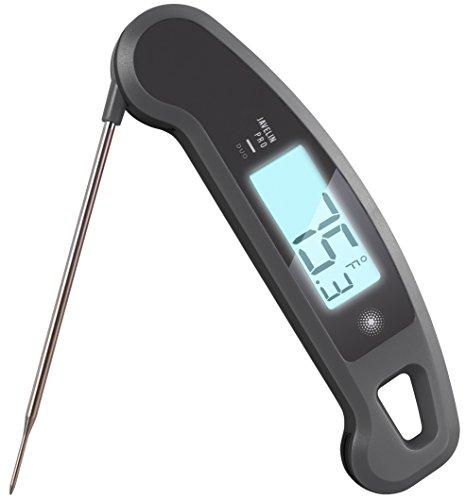 Lavatools Javelin PRO Duo Ambidextrous Backlit Instant Read Digital Meat Thermometer (Sesame)