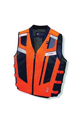 - Olympia Blaze Vest (X-Large/XX-Large) (Neon Orange)