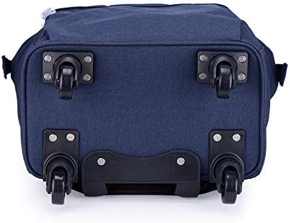 Business Travel Bag Lightweight 360 Degree Mute Caster Trolley Bag Chooseator Trolley Luggage Large Capacity Suitcase Universal Wheel 20 inch Trolley Bag Travel Bag Color : Gray