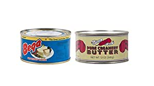 Amazon.com : 1 CAN of Processed Cheese BEGA and 1 CAN of