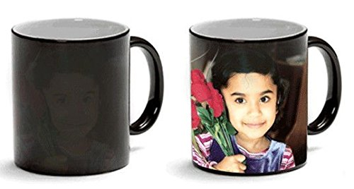 11oz Next Day Print Black Color Changing personalized Mug