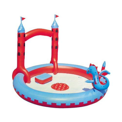 Splash & Play Interactive Castle Inflatable Play Pool by Splash & Play