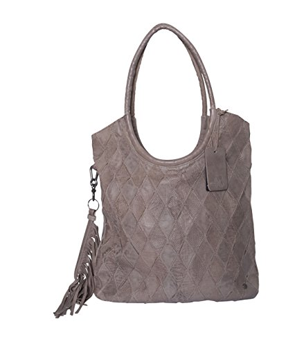 Another Bag Damen Tasche Carry Me Diamond in Grau Azlrzb