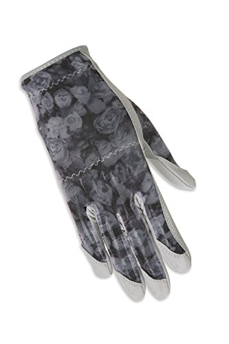 ht Hand Solaire Full Length Golf Glove, Large, Grey Rose ()