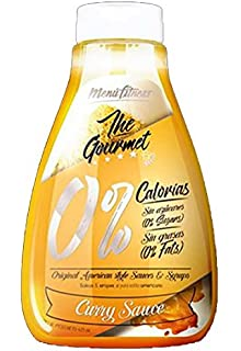 Menú Fitness - Salsa The Gourmet 0% - 425ML (Curry Sauce)