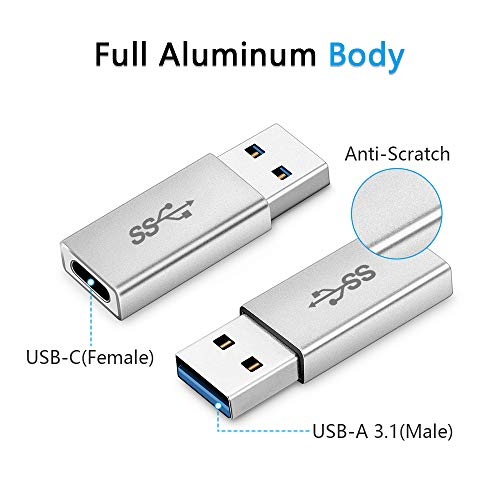 Support 360 Degree Rotation. Computer USB Cable USB 2.0 AF to OTG Mini USB Adapter