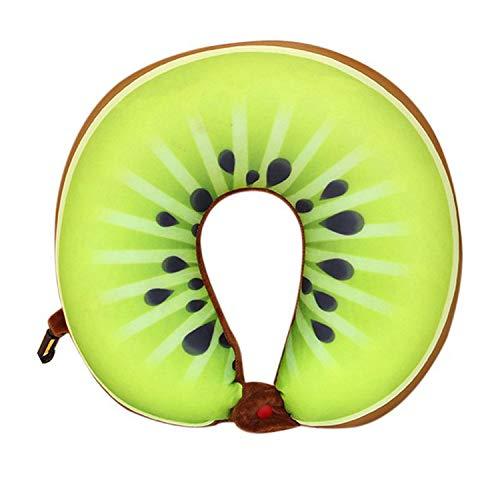 Fruit U Shaped Travel Pillows Cushion Protection Neck Pillow Travel Nanoparticles Massage Soft Cushion Home Textile Decors,A1